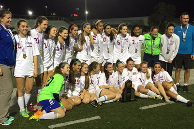 girls soccer champs